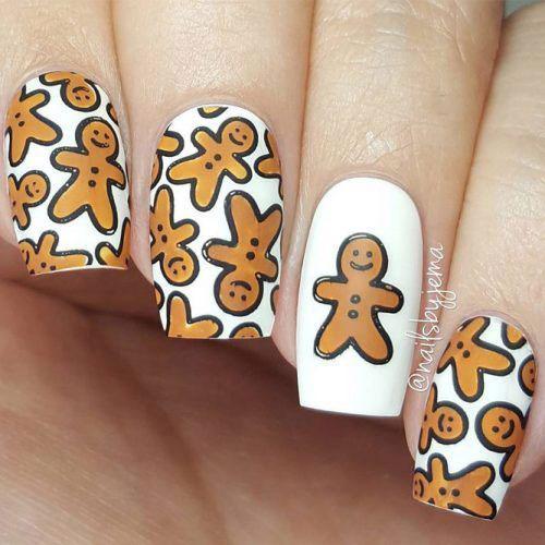 Gingerbread-Men-Christmas-Nails-Art-2020-1