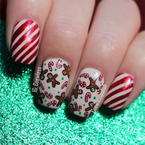 Gingerbread-Men-Christmas-Nails-Art-2020-7