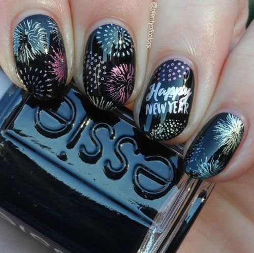 Best-Happy-New-Year-Eve-Nail-Art-Designs-2021-14