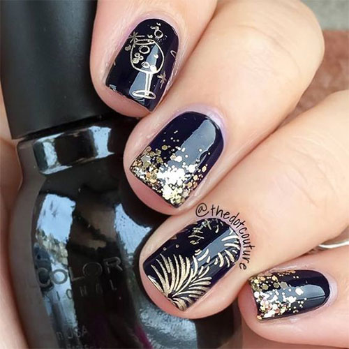Best-Happy-New-Year-Eve-Nail-Art-Designs-2021-16