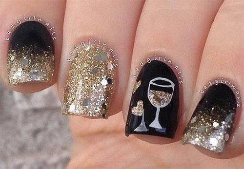 Best-Happy-New-Year-Eve-Nail-Art-Designs-2021-18