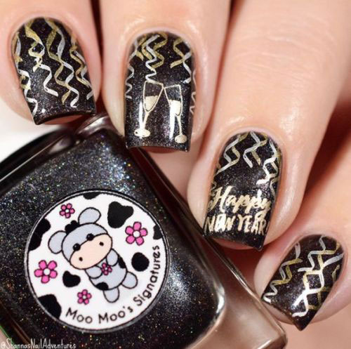 Best-Happy-New-Year-Eve-Nail-Art-Designs-2021-2