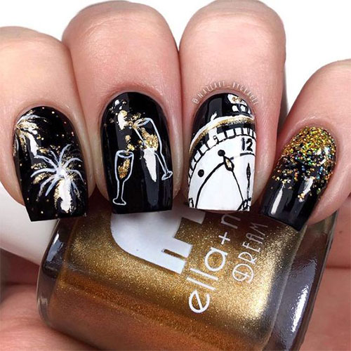 Best-Happy-New-Year-Eve-Nail-Art-Designs-2021-5