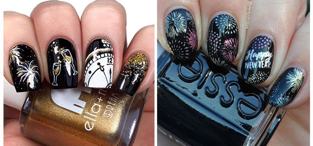 Best-Happy-New-Year-Eve-Nail-Art-Designs-2021-F