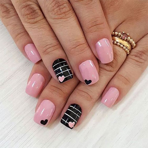 15 Valentine S Day Heart Nail Art Designs 2021 8 Fabulous Nail Art Designs