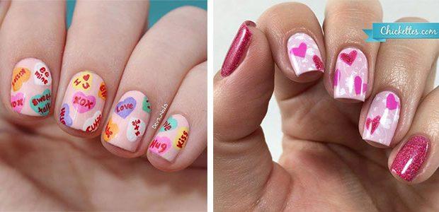 15 Valentine's Day Heart Nail Art Designs 2021