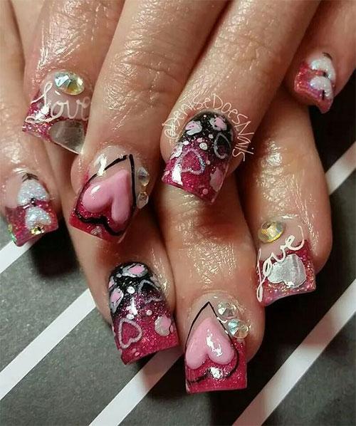 3d-Valentine's-Day-Nail-Art-Ideas-2021-Vday-Nails-3