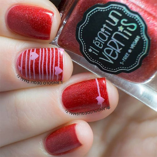 Easy-Valentine's-Day-Nail-Art-Designs-2021-Vday-Nails-7