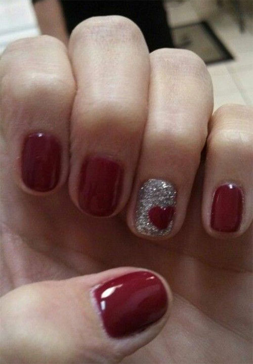 Easy-Valentine's-Day-Nail-Art-Designs-2021-Vday-Nails-9