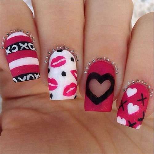 Pink-Valentine's-Day-Nail-Designs-2021-Vday-Nails-1