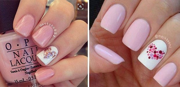 Pink Valentine's Day Nail Designs 2021 | Vday Nails
