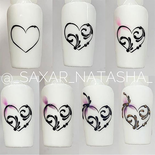 Step-By-Step- Valentine's-Day-Nail-Art-Tutorials-2021-1