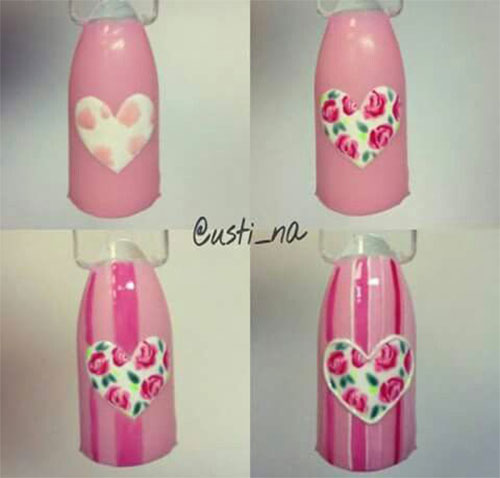 Step-By-Step- Valentine's-Day-Nail-Art-Tutorials-2021-5