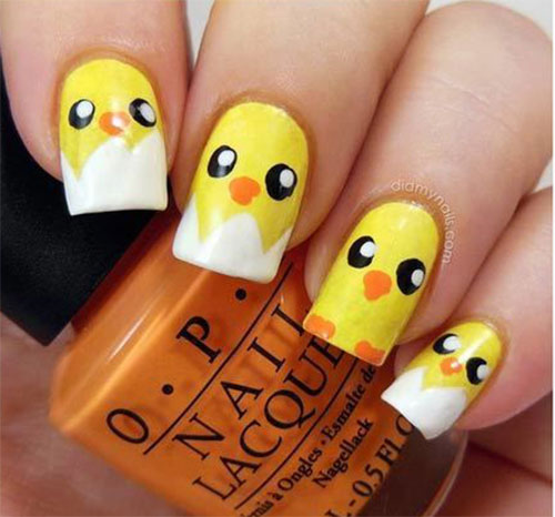 15-Easter-Chick-Nail-Art-Designs-Ideas-2021-7