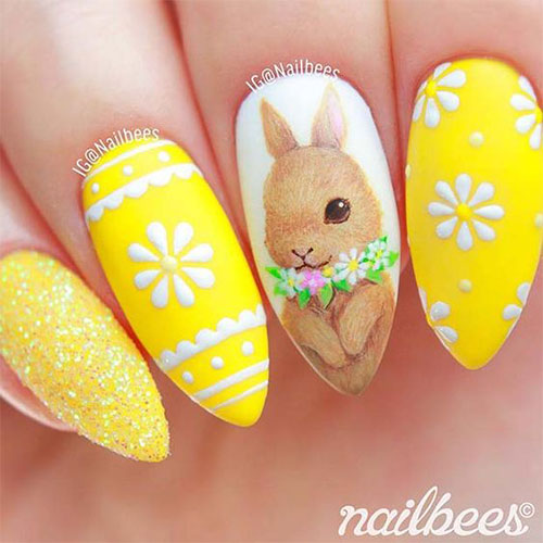Cute-Easy-Easter-Bunny-Nails-Art-Designs-2021-1