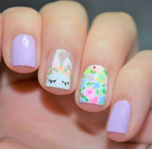 Cute-Easy-Easter-Bunny-Nails-Art-Designs-2021-10