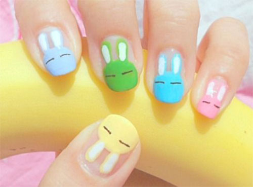 Cute-Easy-Easter-Bunny-Nails-Art-Designs-2021-2