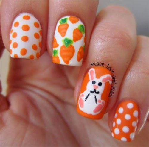 Cute-Easy-Easter-Bunny-Nails-Art-Designs-2021-7