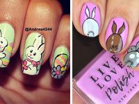 Cute-Easy-Easter-Bunny-Nails-Art-Designs-2021-F