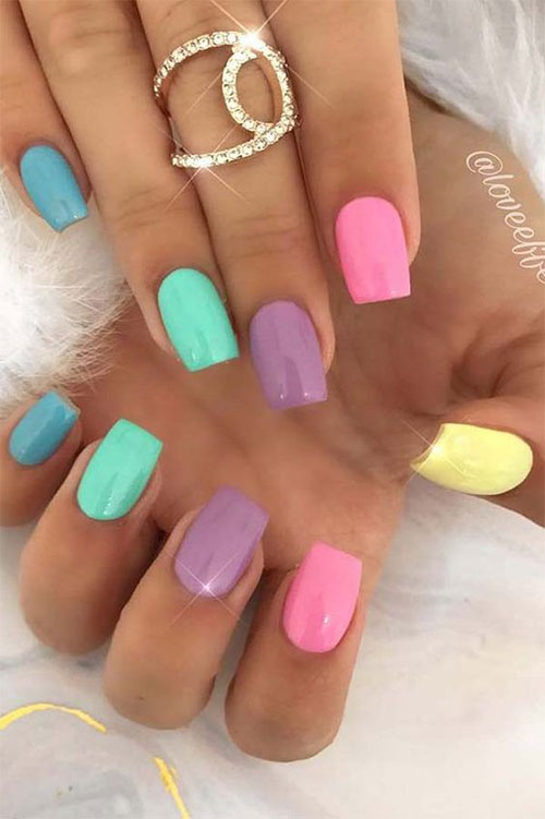 Easter-Color-Nail-Art-Ideas-2021-Happy-Easter-Nails-7