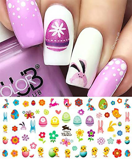 Easter-Nail-Art-Stickers-Decals-2021-Easter-Fake-Nails-5