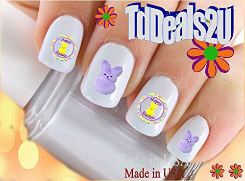 Easter-Nail-Art-Stickers-Decals-2021-Easter-Fake-Nails-7