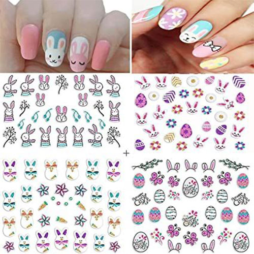 Easter-Nail-Art-Stickers-Decals-2021-Easter-Fake-Nails-8