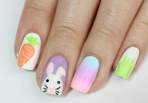 Simple-Easter-Acrylic-Nail-Art-Designs-2021-7