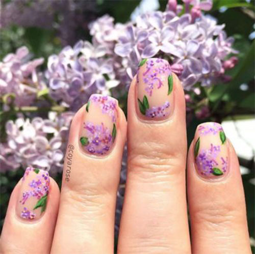 Best-Spring-Floral-Nails-Art-Ideas-2021-March-Spring-Nails-16