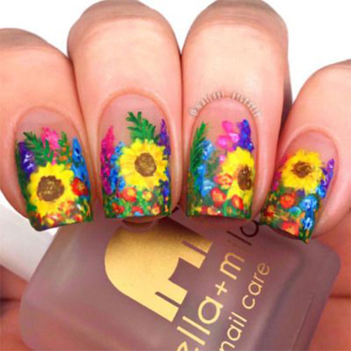 Best-Spring-Floral-Nails-Art-Ideas-2021-March-Spring-Nails-3