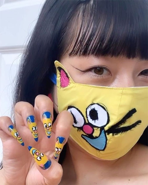 Matching-Nail-Art-With-Face-Mask-Is-New-Coolest-Trend-2021-10