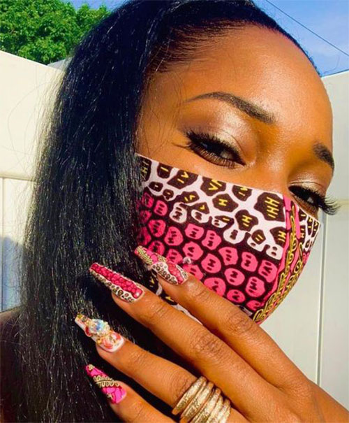 Matching-Nail-Art-With-Face-Mask-Is-New-Coolest-Trend-2021-6