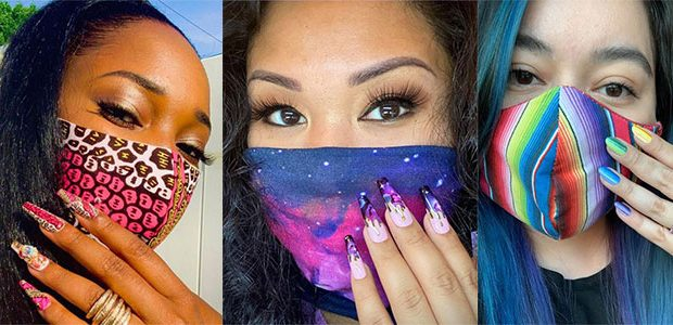 Matching Nail Art With Face Mask Is New Coolest Trend 2021