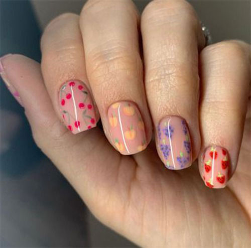 Simple-Easy-Spring-Nails-Art-2021-Spring-Time-Nails-10