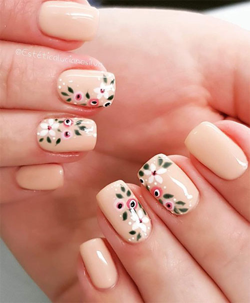 Simple-Easy-Spring-Nails-Art-2021-Spring-Time-Nails-12