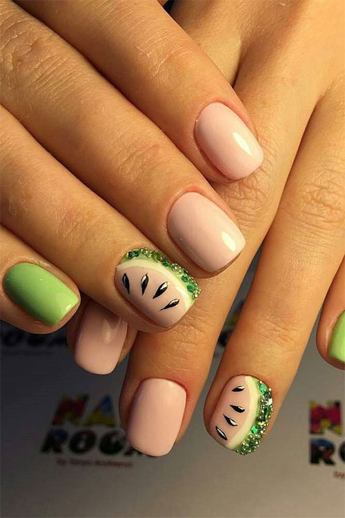 Simple-Easy-Spring-Nails-Art-2021-Spring-Time-Nails-16