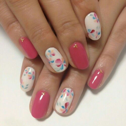 Simple-Easy-Spring-Nails-Art-2021-Spring-Time-Nails-18