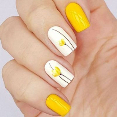 Simple-Easy-Spring-Nails-Art-2021-Spring-Time-Nails-3