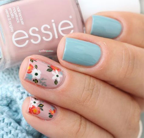 Simple-Easy-Spring-Nails-Art-2021-Spring-Time-Nails-6