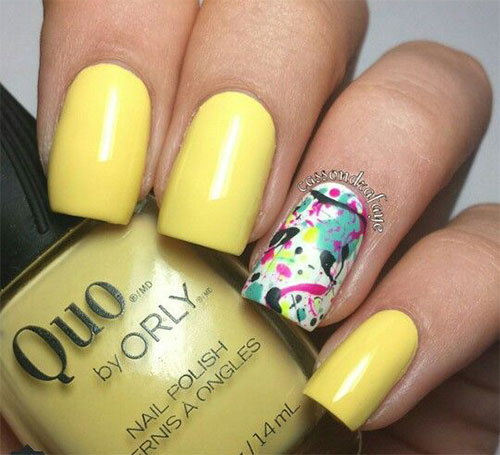 Simple-Easy-Spring-Nails-Art-2021-Spring-Time-Nails-9