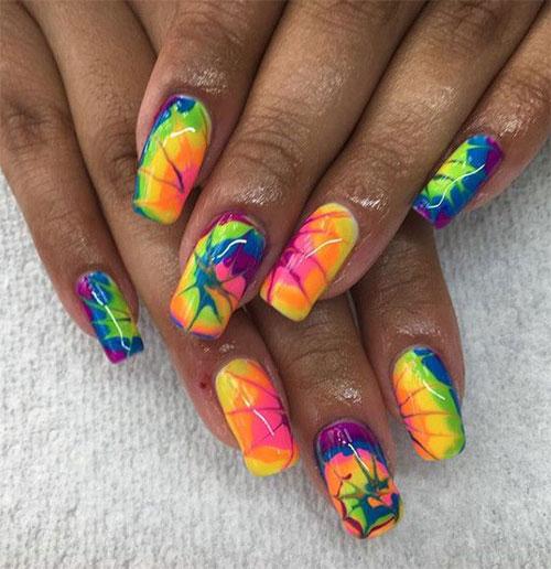 Tie-Dye-Nail-Art-Designs-Ideas-2021-Nail-Trends-16