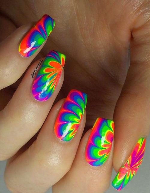 Tie-Dye-Nail-Art-Designs-Ideas-2021-Nail-Trends-5