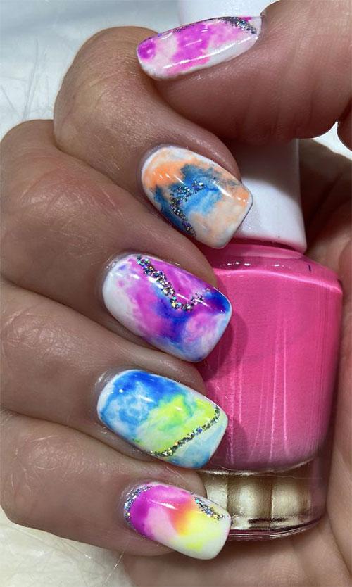 Tie-Dye-Nail-Art-Designs-Ideas-2021-Nail-Trends-6