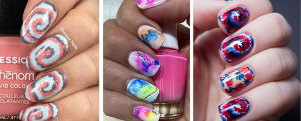 Tie-Dye-Nail-Art-Designs-Ideas-2021-Nail-Trends-F