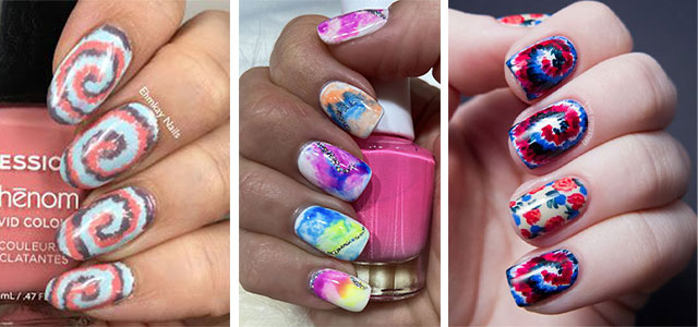 Tie-Dye-Nail-Art-Designs-Ideas-2021-Nail-Trends-F