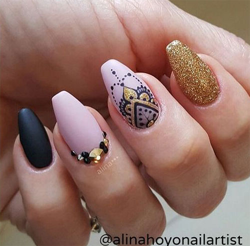 Amazing-Eid-Nail-Art-Designs-Ideas-You-Will-Love-Eid-Nails-2021-4