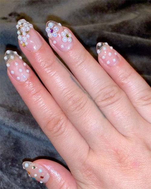 Amazing-Pearls-Nail-Art-Designs-Ideas-2021-11