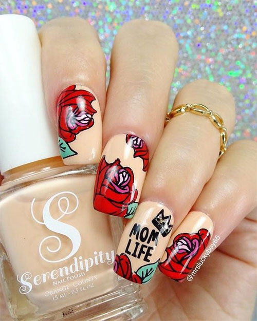 Happy-Mother's-Day-Nails-Art-Ideas-2021-13
