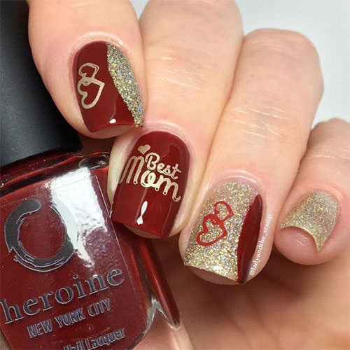 Happy-Mother's-Day-Nails-Art-Ideas-2021-3