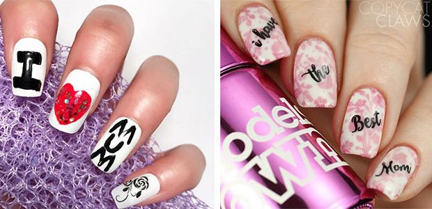 Happy Mother's Day Nails Art Ideas 2021